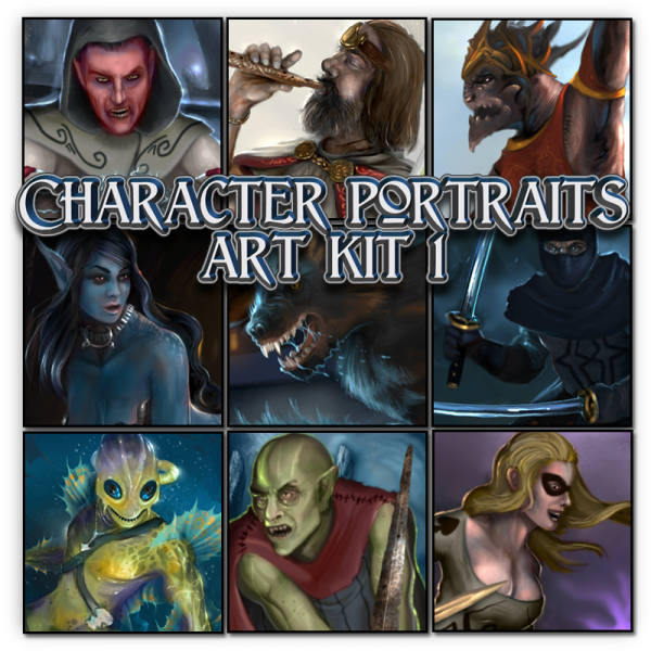 GMC - Character Portraits art kit 1