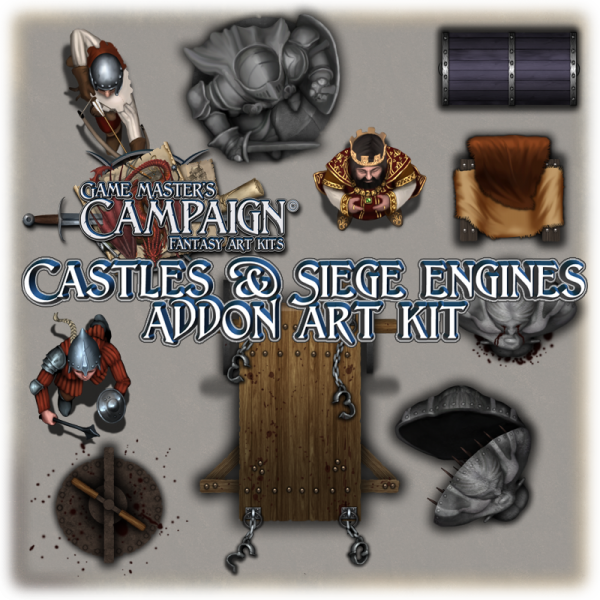 Castles & Siege engines addon art kit