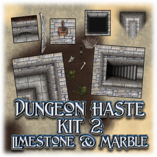 Dungeon haste kit 2 - Limestone & Marble