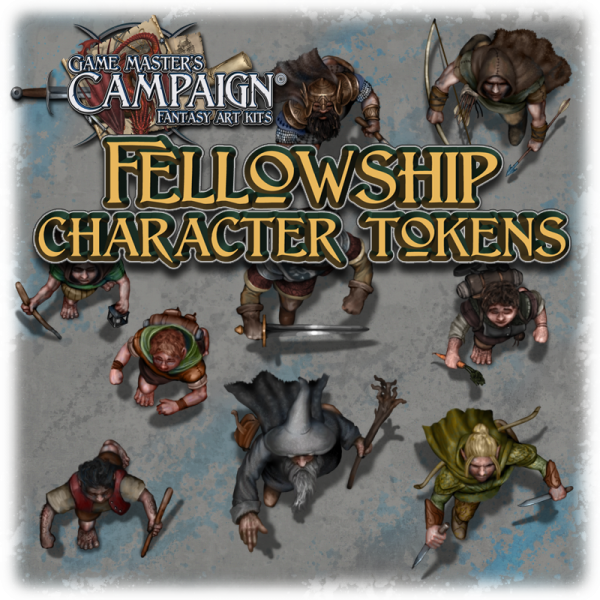 Fellowship character tokens