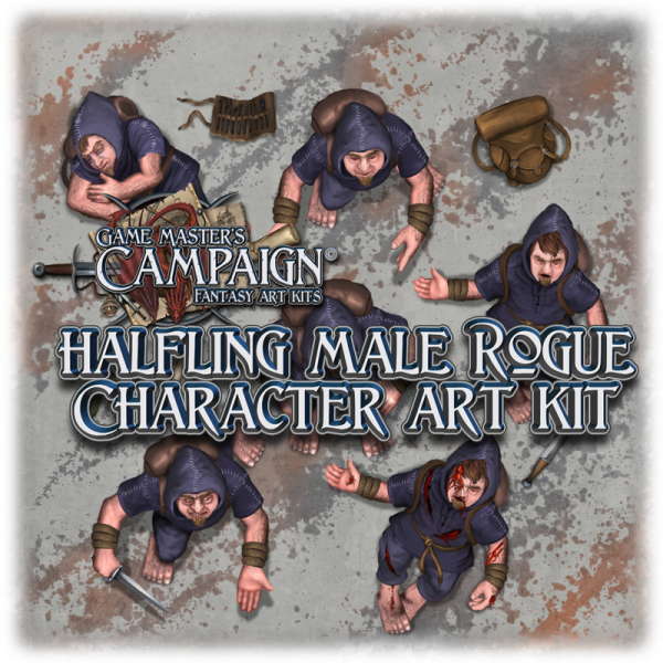 Halfling male Rogue character 1