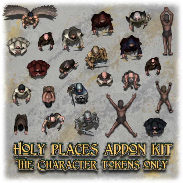 Holy places addon kit - Character tokens only