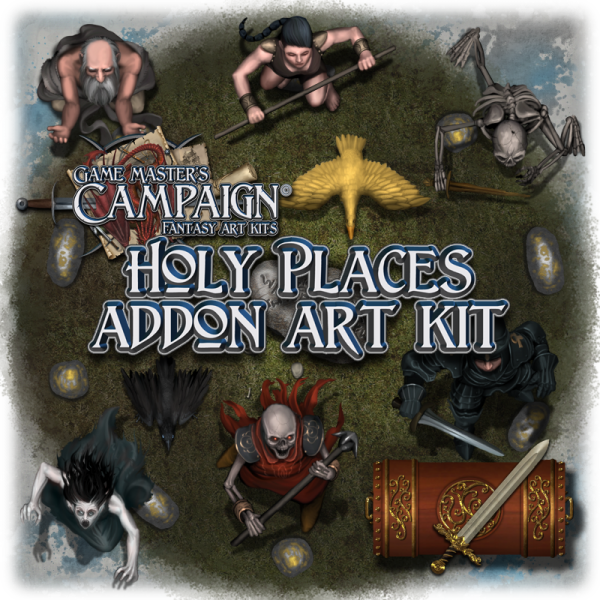 Holy places addon art kit