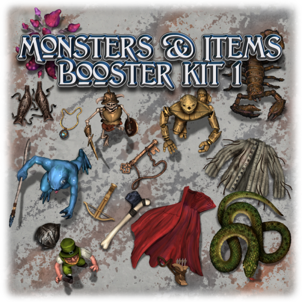 Monsters & items booster kit 1