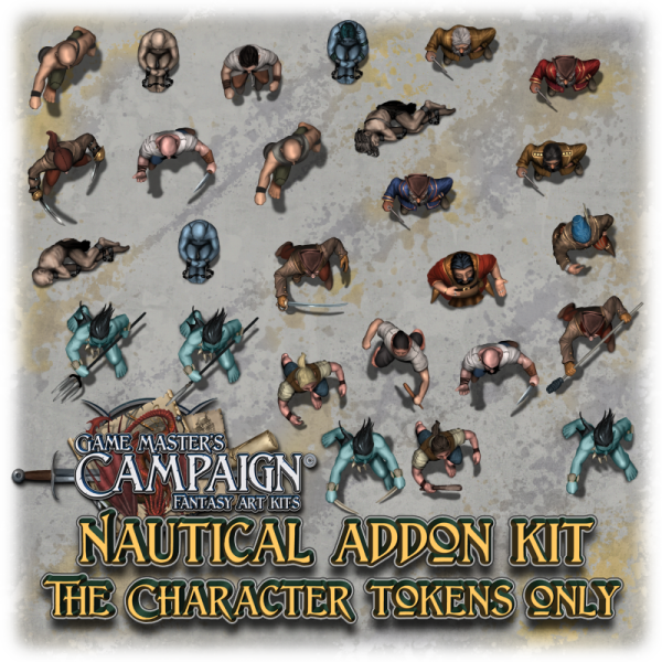 Nautical addon kit - Character tokens only