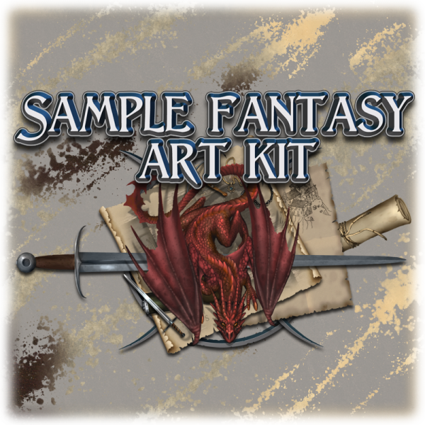 Sample fantasy art kit
