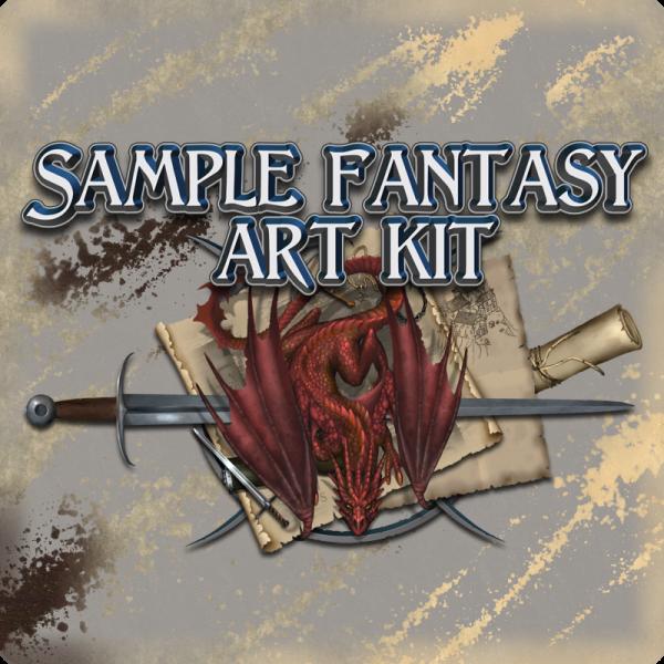Sample fantasy art kit