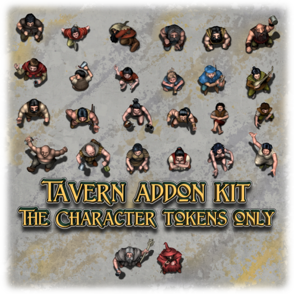 Tavern addon kit - Character tokens only