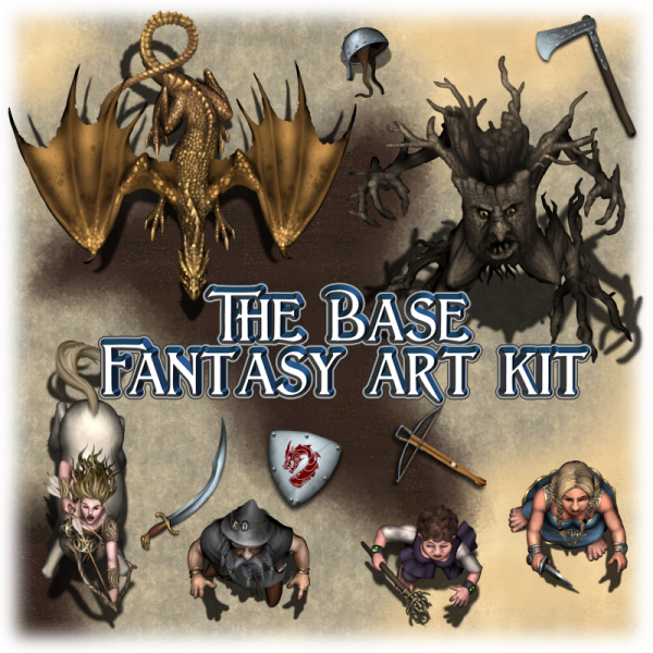 Base Fantasy art kit
