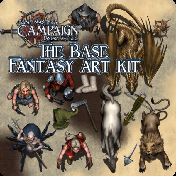 Base Fantasy art kit
