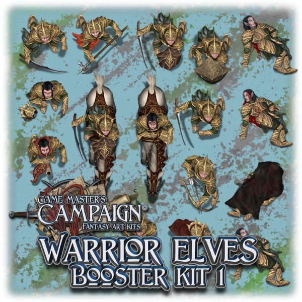 Warrior elves character booster kit 1