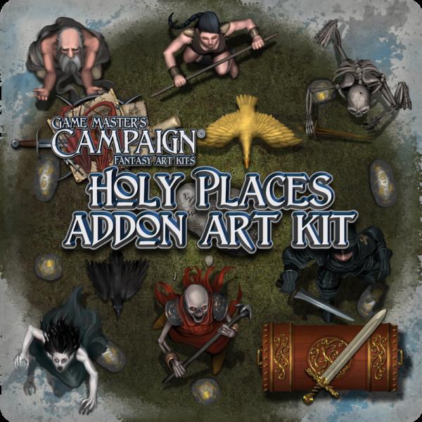 Holy places addon art kit