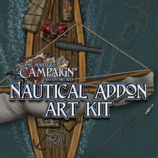 Nautical addon art kit
