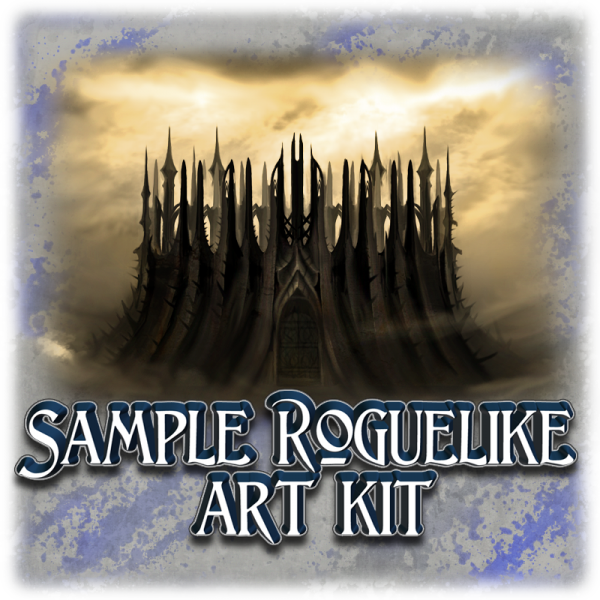 Sample Roguelike art kit